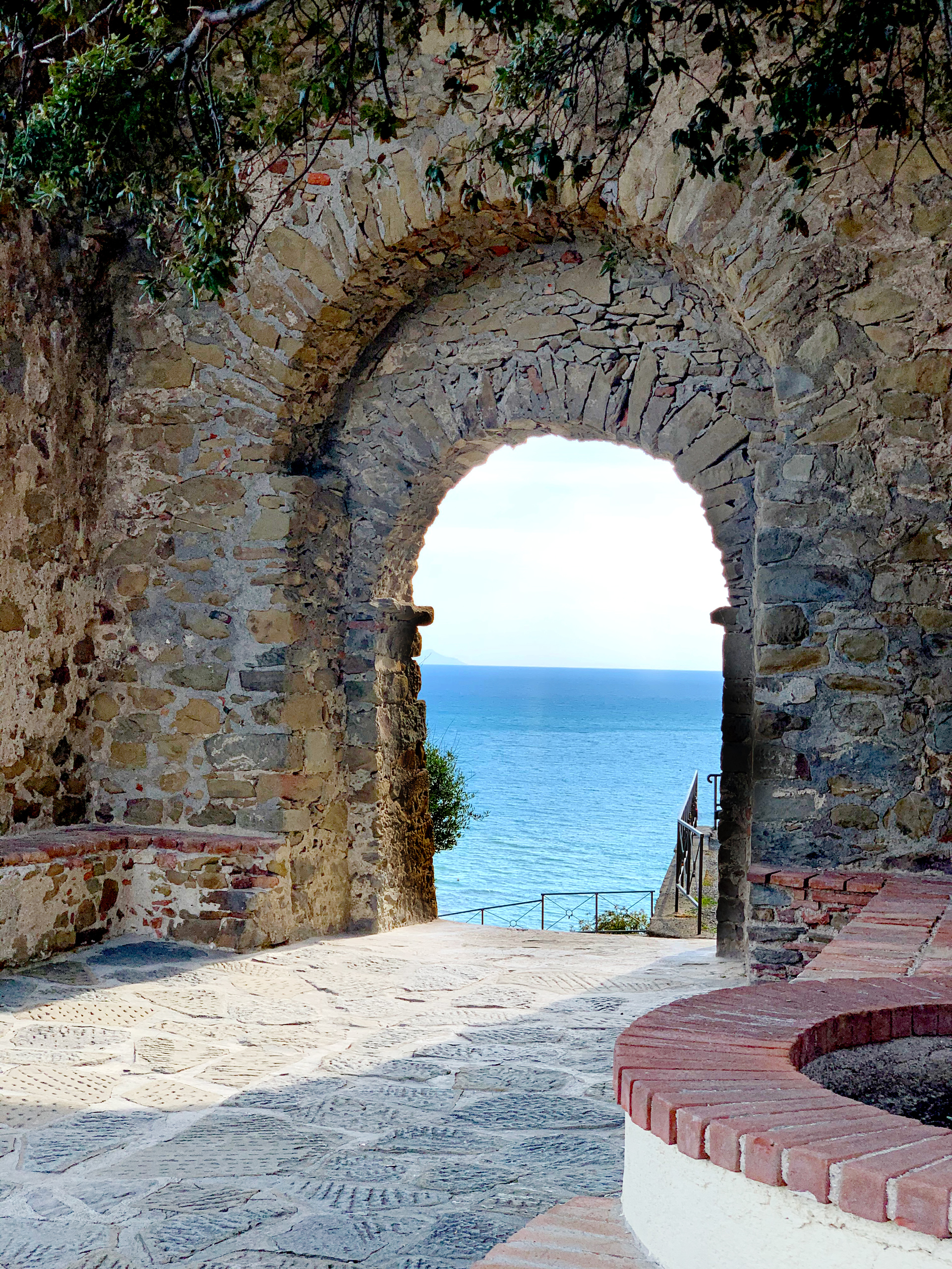 Villa Ancora Appartamenti Castiglione della Pescaia Vicino al Mare - foto del borgo sul mare