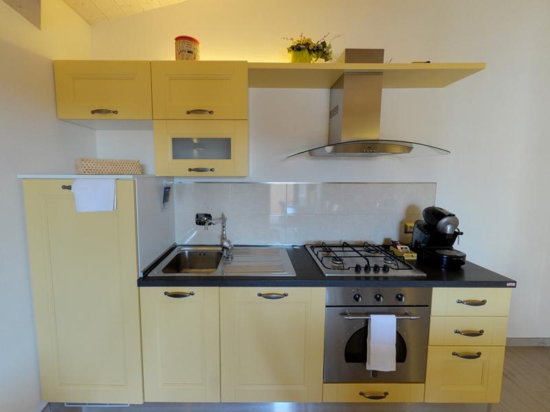 Cucina appartamenti vacanza a castiglione della pescaia pianosa